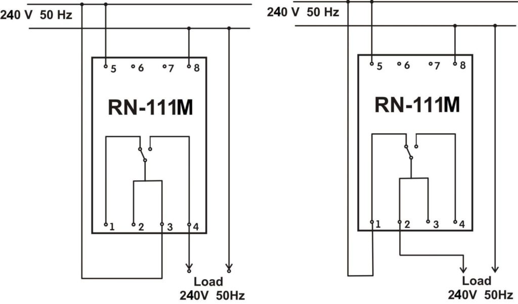 Single Phase Voltage Monitoring Relay Rn